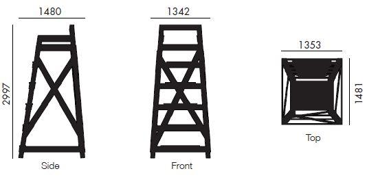THigh Chair WUDTHING A GOOD THING – High Chair Dimensions